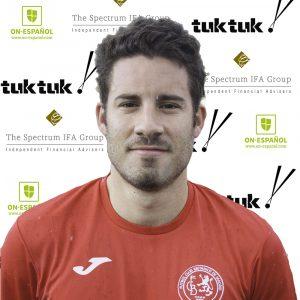 FCB Defender Alberto Niño