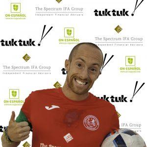 FCB midfielder Zak Harry