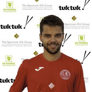FCB defender Sean McBride