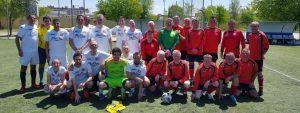 FC Británico de Madrid Vets team v Village FC
