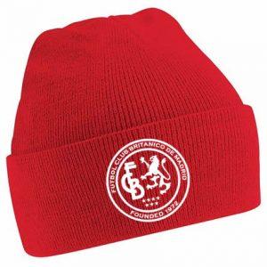 FC Británico de Madrid Red Beanie Hat